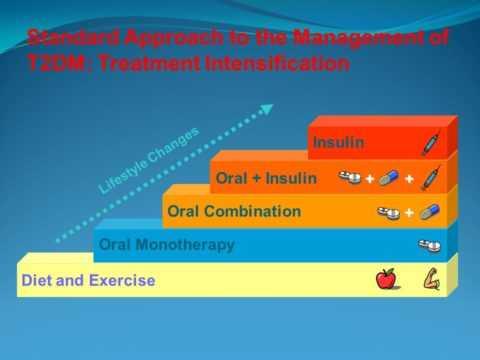 Основа в подходе к пациенту с сахарным диабетом второго типа.