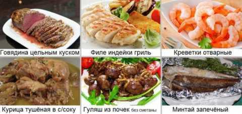 Основные блюда на каждый день для людей, страдающих от сахарного диабета