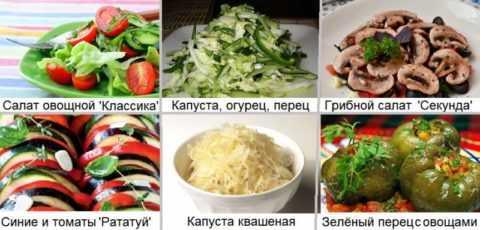 Основные гарниры для диабетиков – свежие и запечённые овощи
