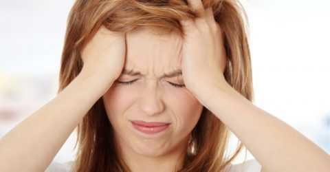 Острая головная боль.