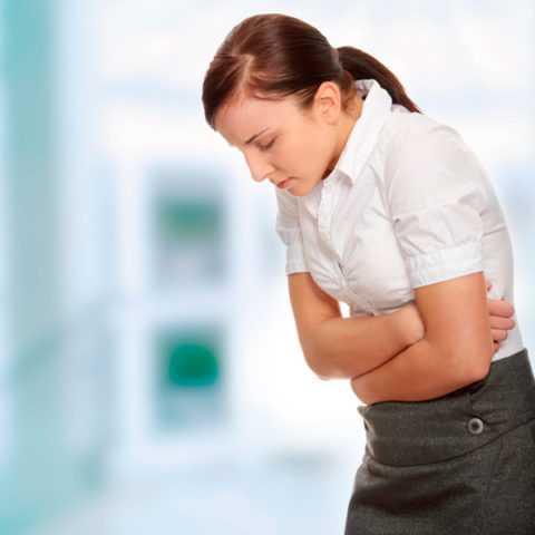 Острые боли в животе при диарее