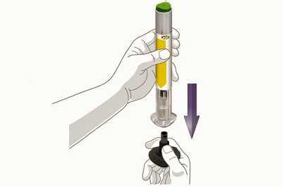 Открытие шприц-ручки