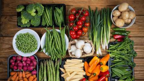 Овощное меню.