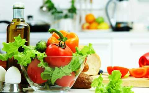 Овощные салаты подходят для ежедневного употребления