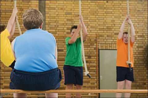 Подросток, страдающий лишним весом, может быть диабетиком.