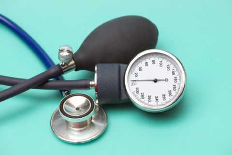 Показатели артериального давления должны контролироваться.