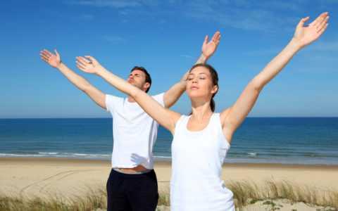 Польза дыхательных упражнений.