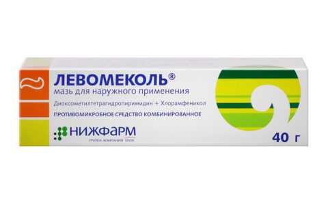 Помогает заживлению и борется с инфекцией