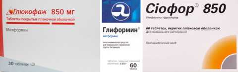 Популярные торговые марки лекарств с метформином
