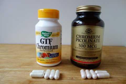 Препараты с хромом при сахарном диабете и ожирении