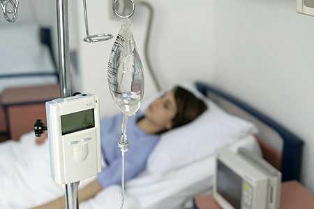При тяжелом состоянии пациента