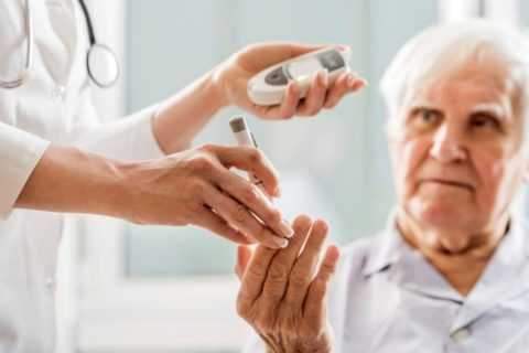 Прием противодиабетических медикаментов в пожилом возрасте