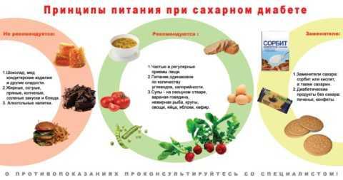 Принципы лечебной диеты