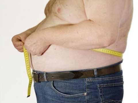 Присутствует лишний вес или ожирение