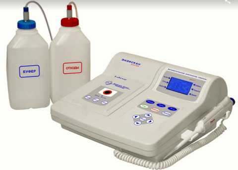 Профессиональный автоматический анализатор глюкозы в крови и моче Энзискан Ультра
