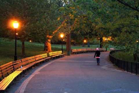 Прогулка в вечернее время.
