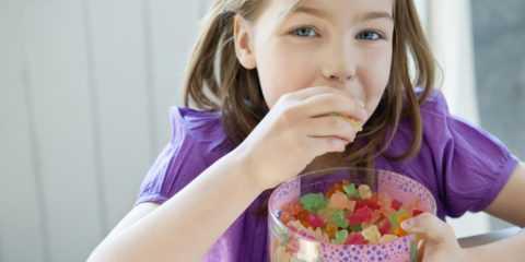 Ребенок должен иметь при себе запас глюкозы.