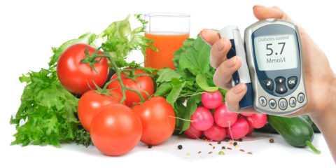 Роль правильного питания в лечении СД.