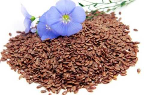 Семена льна.