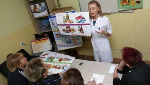 Школа диабета действует при поликлиниках