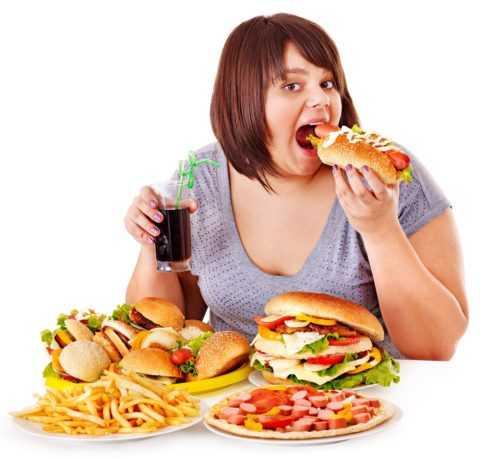 Сидячий образ жизни и неправильное питание.