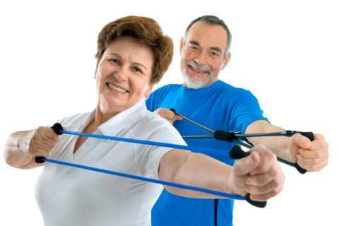 Силовые упражнения на сопротивление – разновидность гимнастики при СД 2 типа
