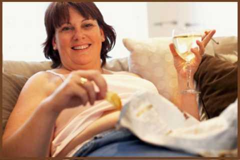 Снятие стресса курением, алкоголем и заеданием сладеньким закончится СД 2