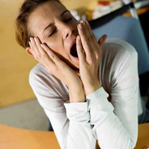 Сонливость от приема антисептика