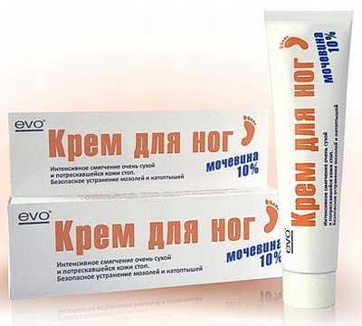 Средства для кожи с мочевиной при патологии эндокринной системы
