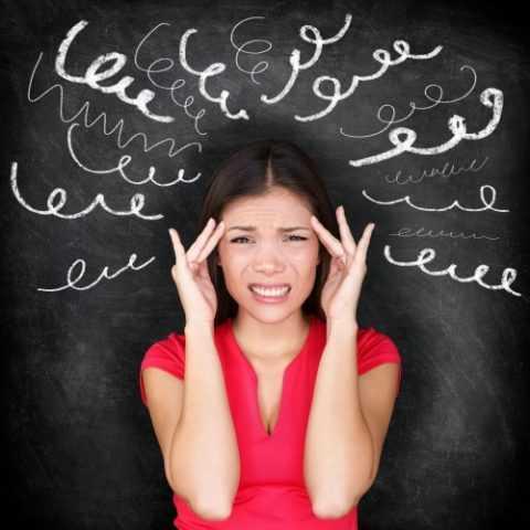 Стресс – распространенная причина возникновения недуга