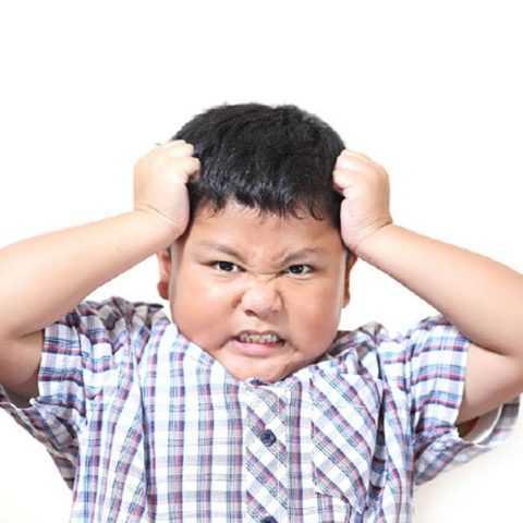 Стресс пагубно сказывается на здоровье малыша
