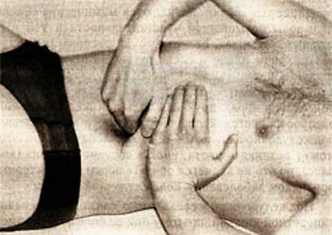 Точечное массажное воздействие на поджелудочную железу