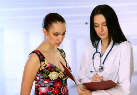Только своевременное обращение к доктору поможет предупредить развитие серьезных проблем со здоровьем.