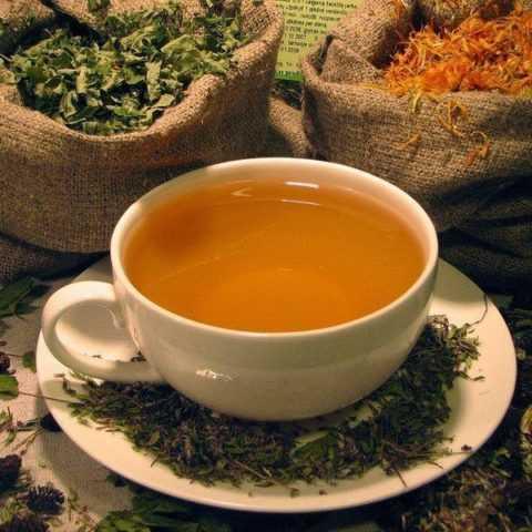 Травяной чай для снижения сахара