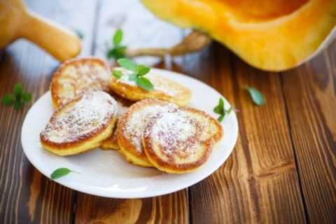 Тыквенные оладьи – идеальны для завтрака перед началом долгого и насыщенного дня.