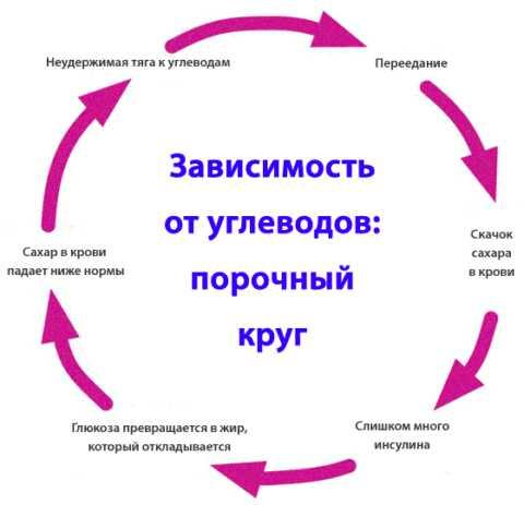 Углеводы создают порочный круг в организме