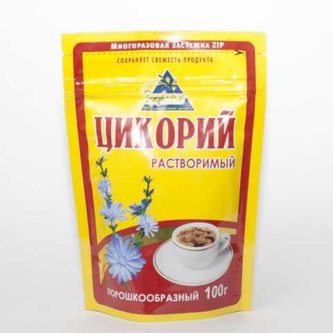 Упаковка напитка из цикория