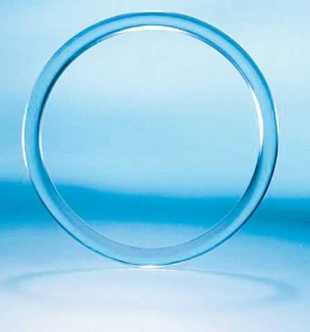 Вагинальное гормональное кольцо.