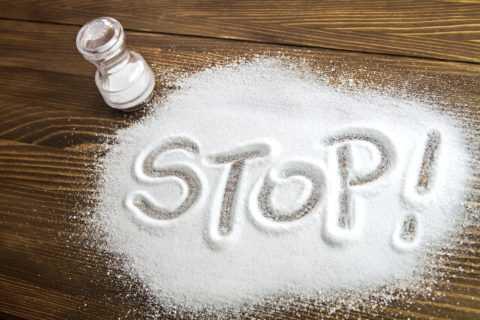 Вред соли.