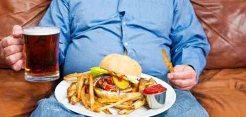 Вредные привычки при СД и ожирение нарушают синтез тестостерона