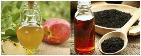 Яблочный уксус и масло из семян чёрного льна обладают антигликемическими свойствами