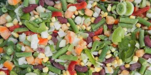 Заморозка овощей способна понизить их гликемический индекс