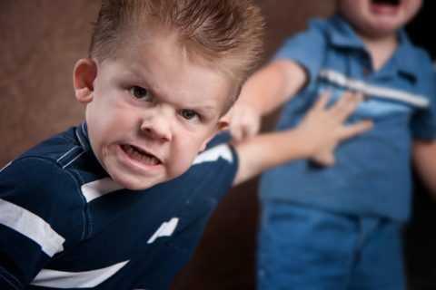 Злость у ребенка.