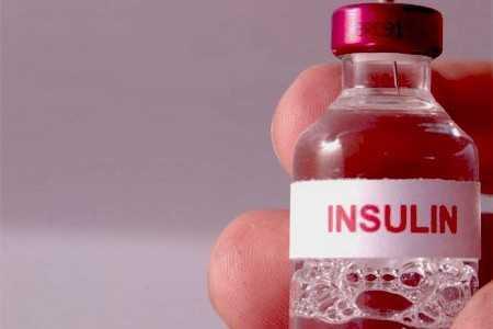Баночка с инсулином