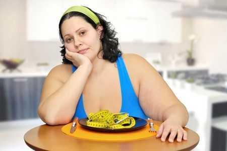Женщина с ожирением