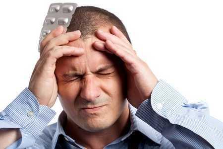 Головные боли у мужчины