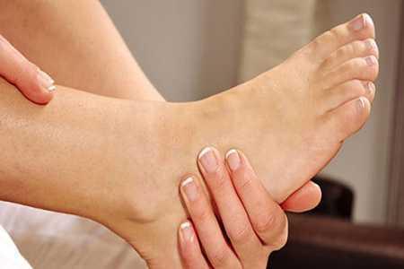 Здоровая нога