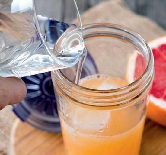 Разбавление сока водой