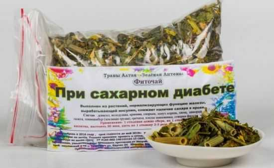 Травы при диабете
