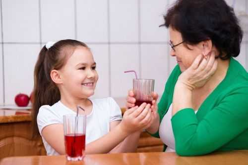 Сок для ребенка